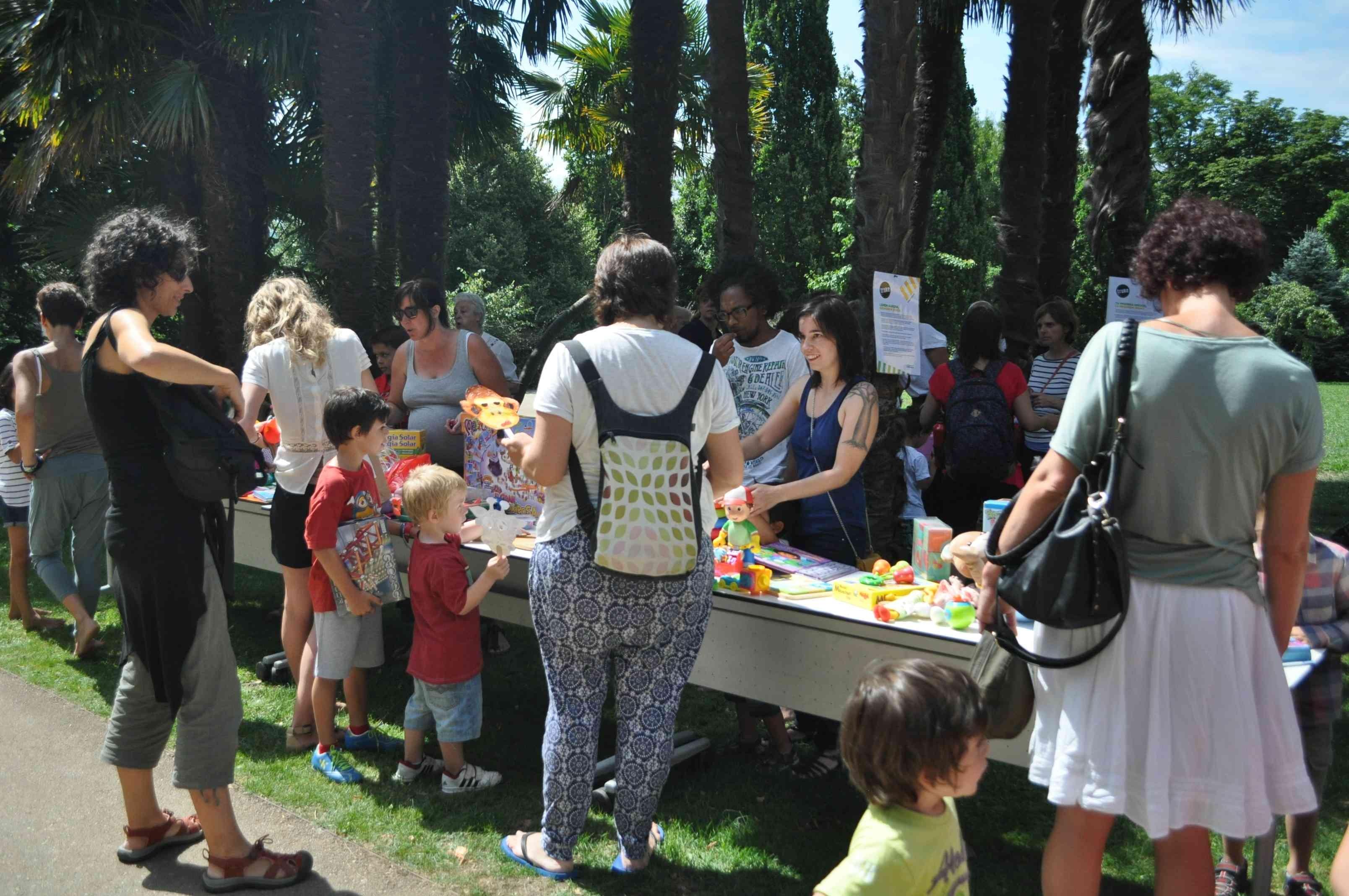 En la edición de julio participó mucha gente.