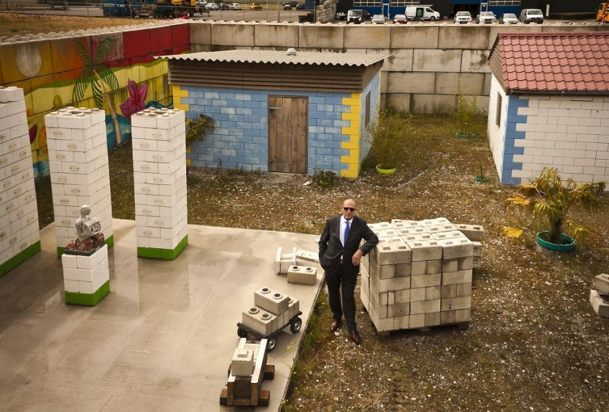 Bloques de construcción inspirados en Lego.