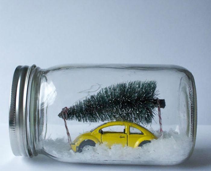 Imagen de Navidad reciclada..